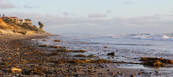 Carlsbad Beach - warm waters