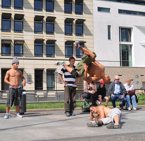 Strassenkünstler in Berlin