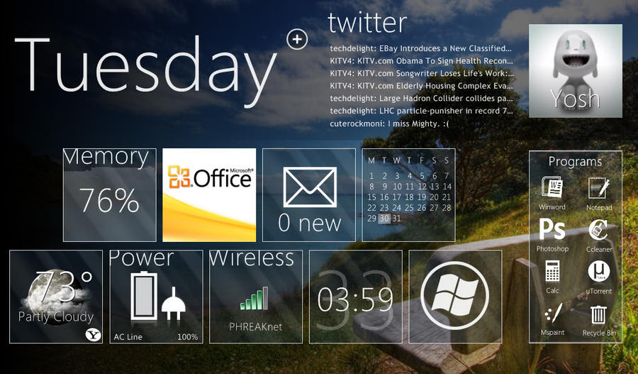 download Rainmeter, download gratis rainmeter, modifikasi tampilan windows