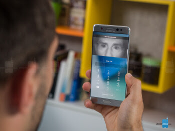 Note 7's iris scanner will probably arrive on the Galaxy S8/S8+ as well