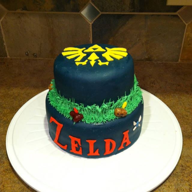 Excellent 10 Legend Of Zelda Cakes For The Indulgent Eater Cool Gizmo Toys Funny Birthday Cards Online Elaedamsfinfo