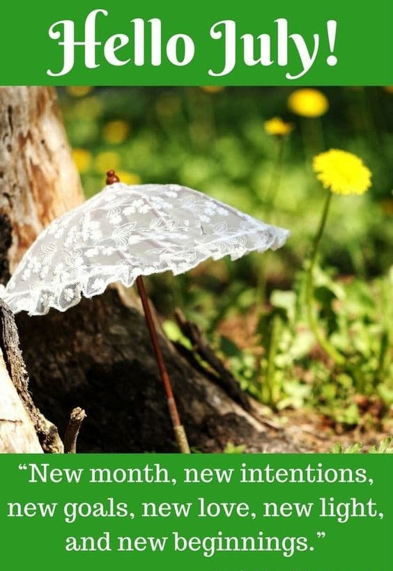 Hello July Quotes New Month Quote Images