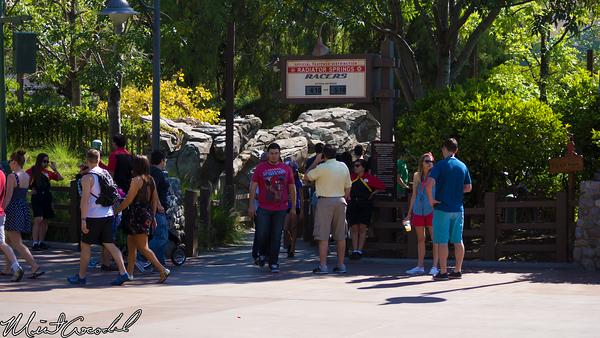 Disneyland Resort, Disney California Adventure, Radiator Springs Racers, FastPass, Distribution