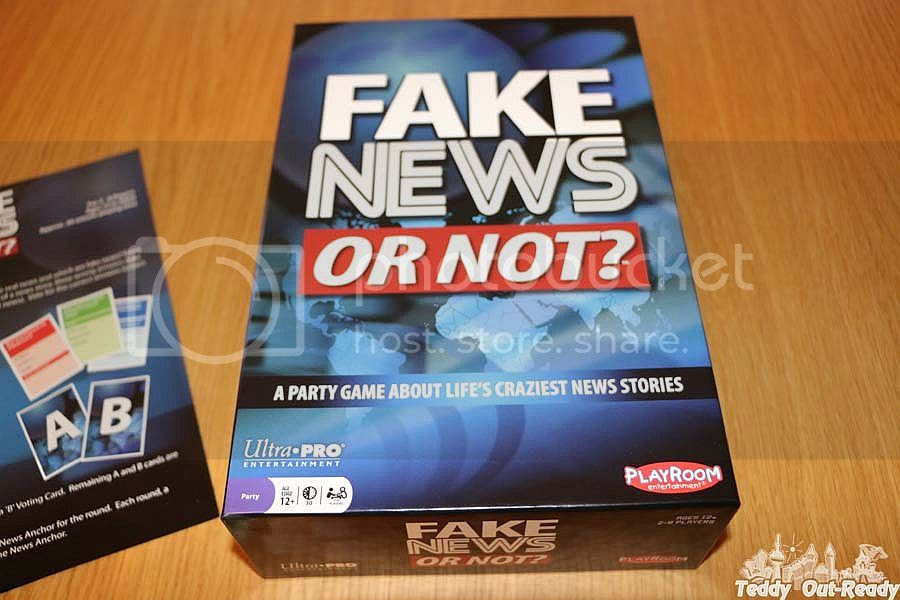 Fake News or not Board Game