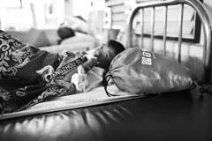 Boy Alone - hospital Issan, Thailand