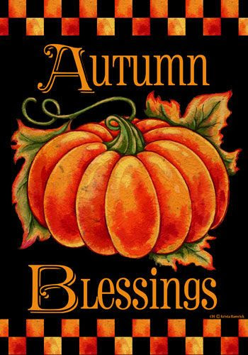*AUTUMN BLESSINGS