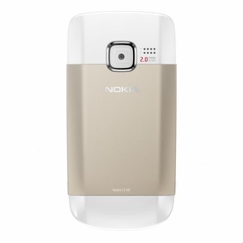 nokia c3 golden white. Nokia C3-00 Golden White