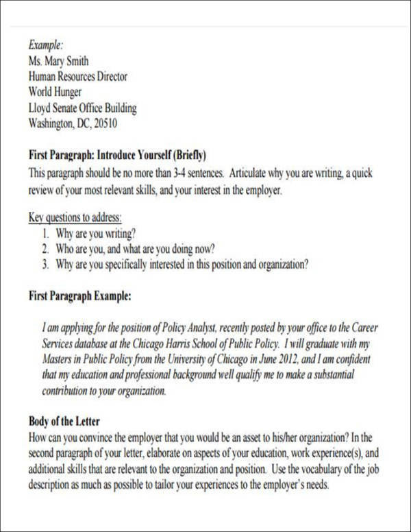 5 Employment Introduction Letter Samples And Templates