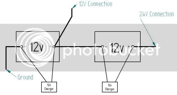 How To Jump Start 24v From 12v Diagram