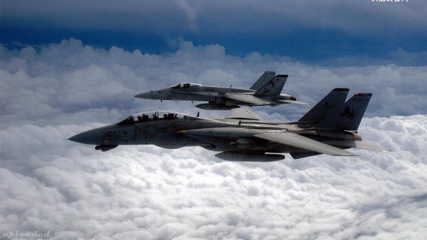 U S Navy F14 Tomcat Fighter 19 1366x768 Wallpaper Download