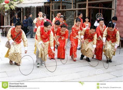 Traditional Chinese Wedding Celebration Editorial Stock