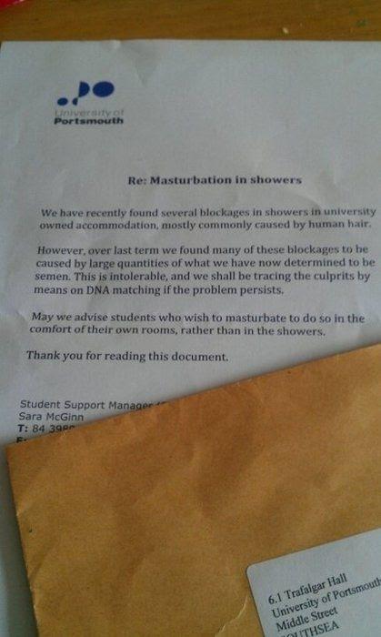Larangan masturbasi di berbagai kampus di dunia