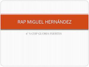 Rap Miguel Hernández