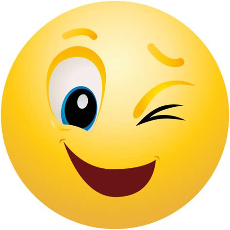 winking emoticon png clip art  web clipart