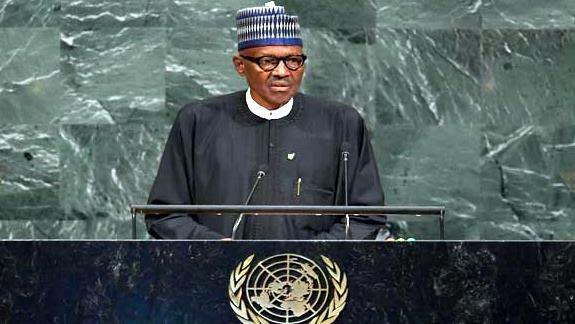 Thespian Buhari at the UN