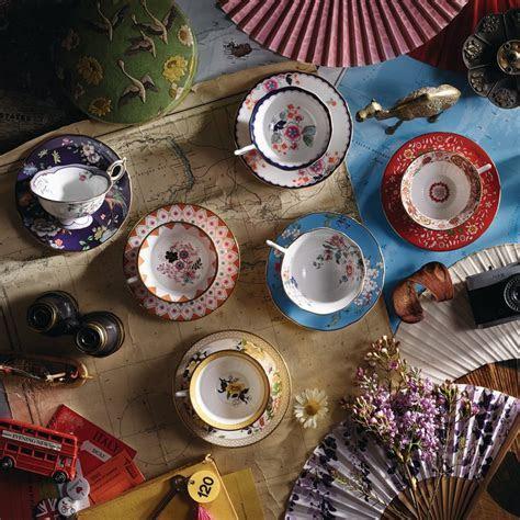 Wedgwood Wonderlust Apple Blossom Teacup & Saucer