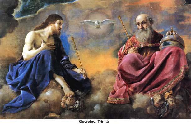 Sainte Trinité dans image sacré et texte