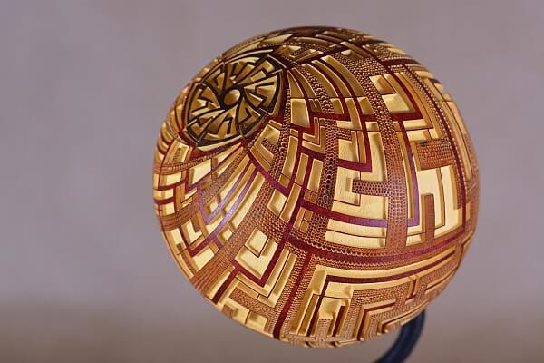 Table lamp XXI Questa - D2 (1)