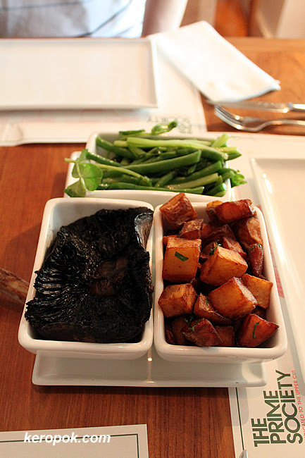 Our sides - Mushroom, Potatoes and Asparagus