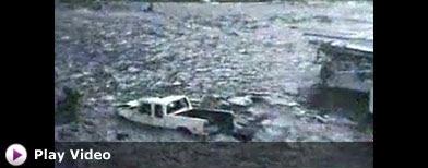 Amateur video of tsunami damage (ABC)