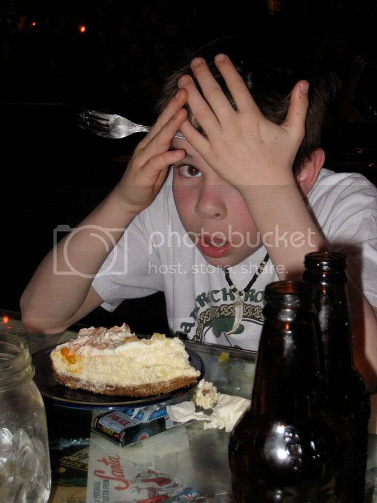 Too much cake