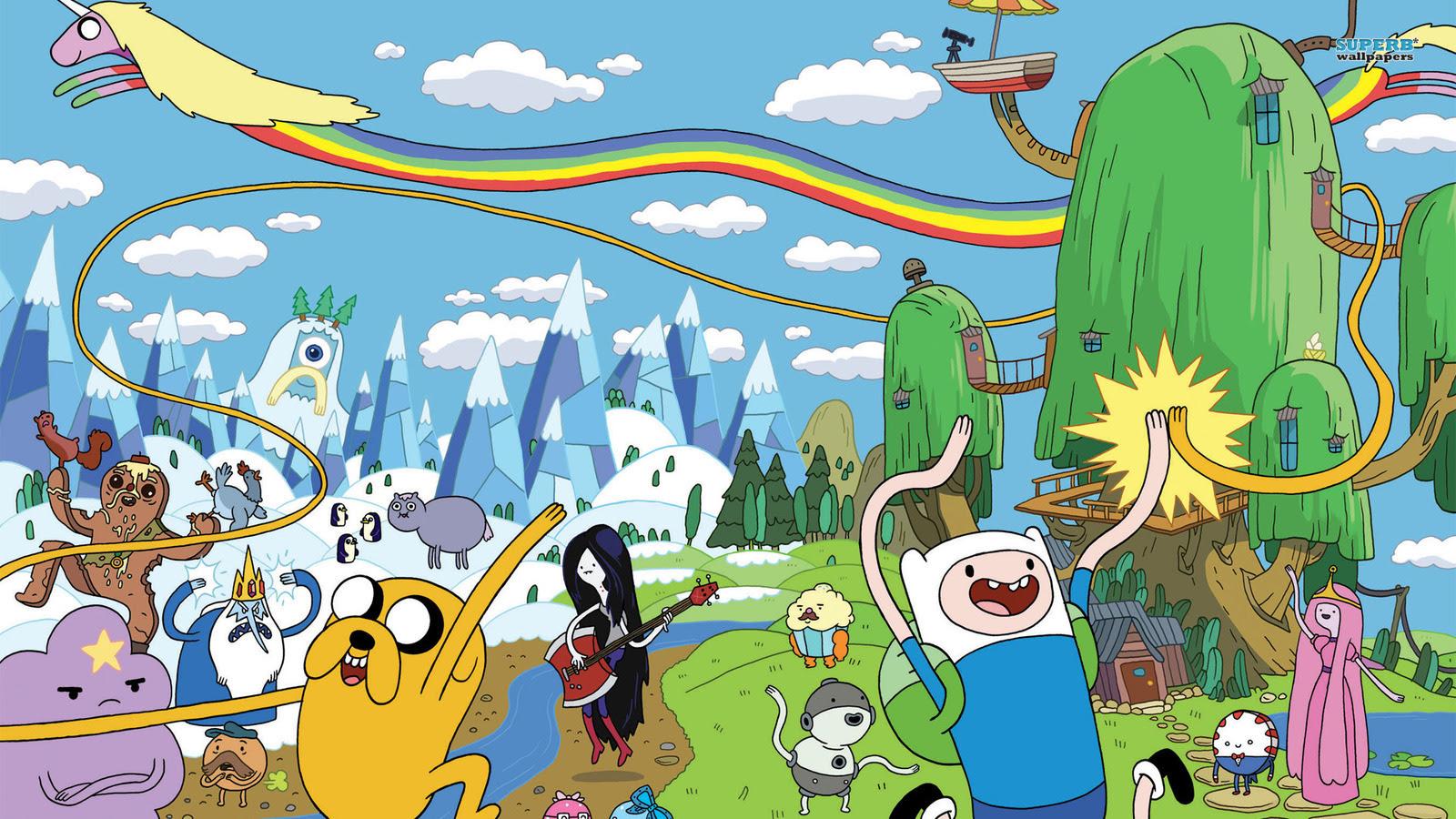 Anime Kawaii Adventure Time Wallpaper