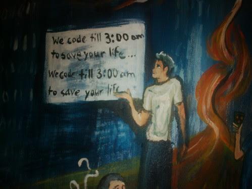 We code till 3:00 am