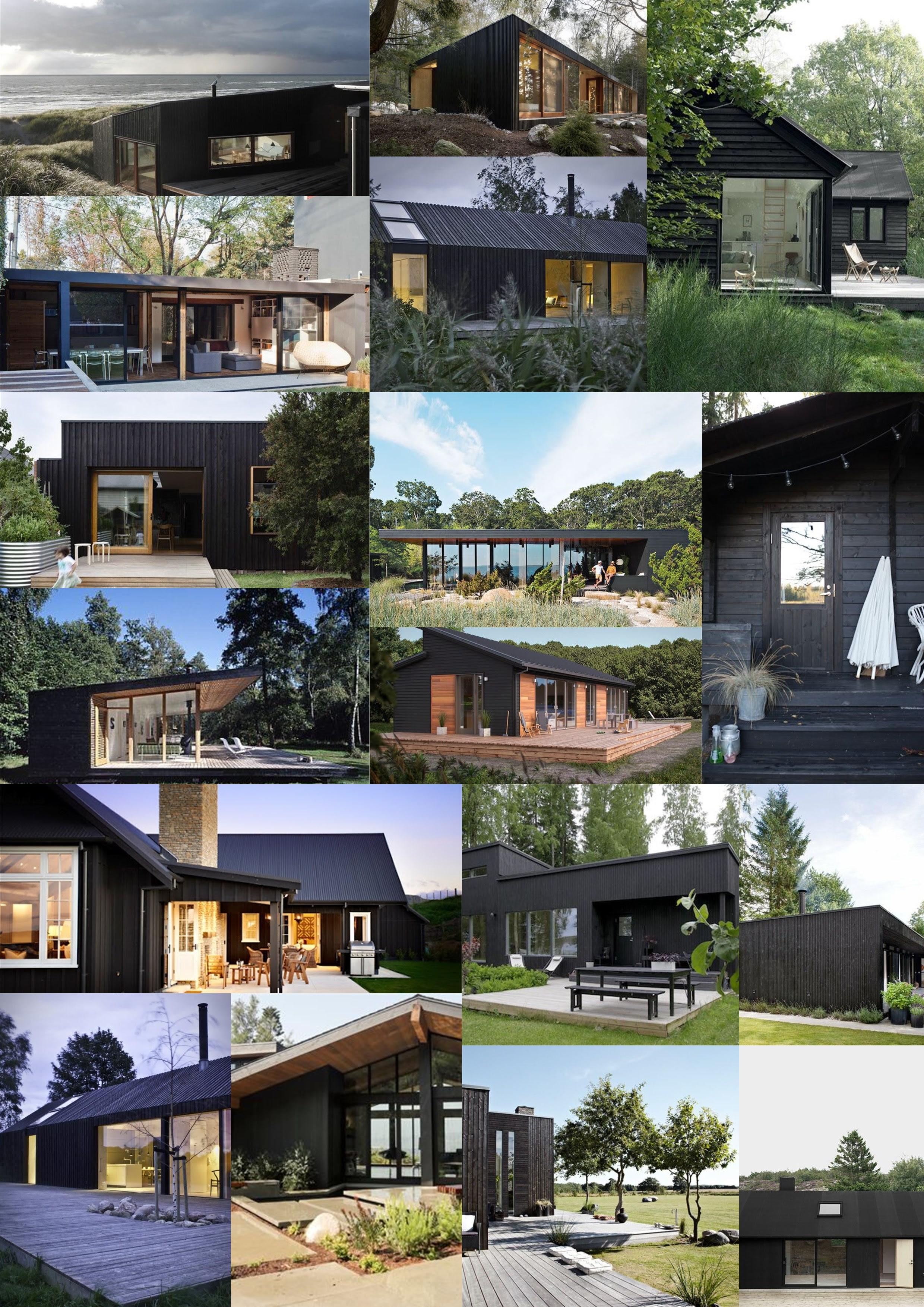 Diy House Build House Exterior Ideas Black Vs Natural Threadbare Cloak