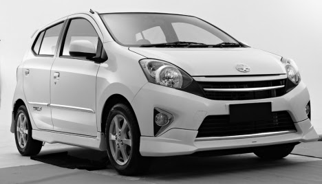 Contoh Modifikasi Mobil Agya
