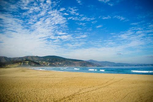 Beach dreams on a cloudy morning.