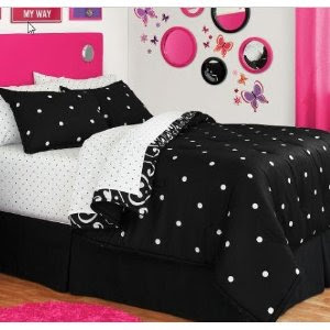 Black and White Polka Dot Bedding for Fun or Elegance