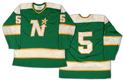 Minnesota North Stars 1978-79 jersey
