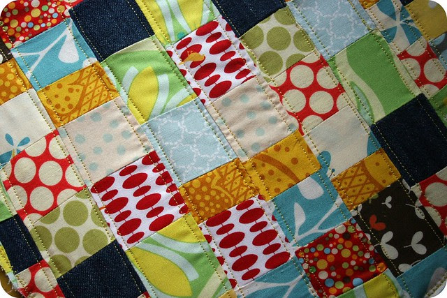 tiny patchwork.from scraps