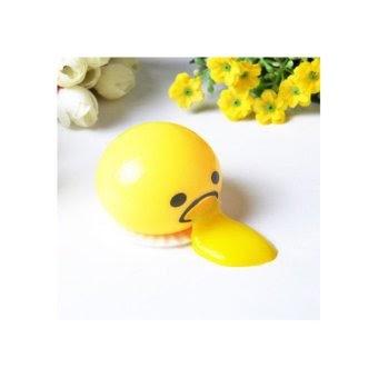 Cara Membuat Cannice MINI Gudetama Squishy Vomit Random Color Gudetama Muntah Slime Tak Tertandingi | lazid