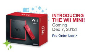 Nintendo Wii Mini leaks out early at Best Buy