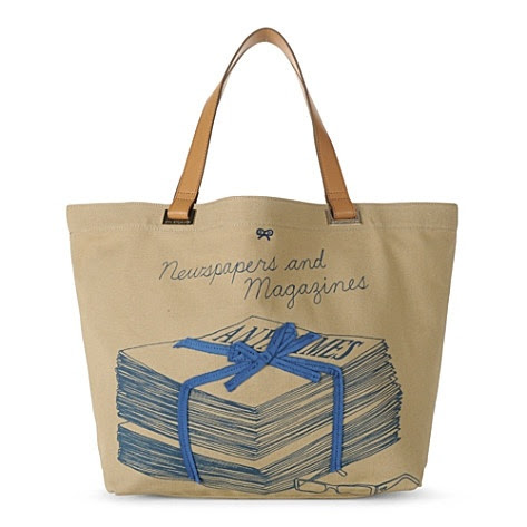 Anya Hindmarch's Newspapers and Magazines tote selfridges.com