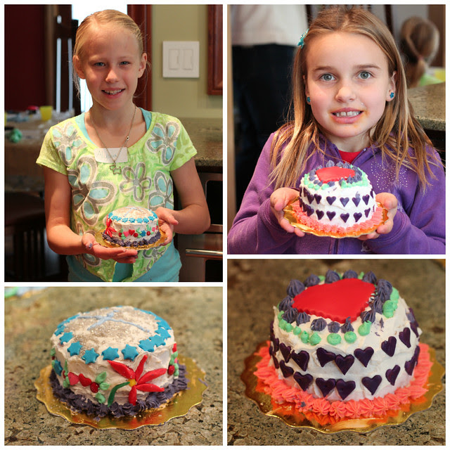 Cake Decorating Party - Lucia's 11th Birthday