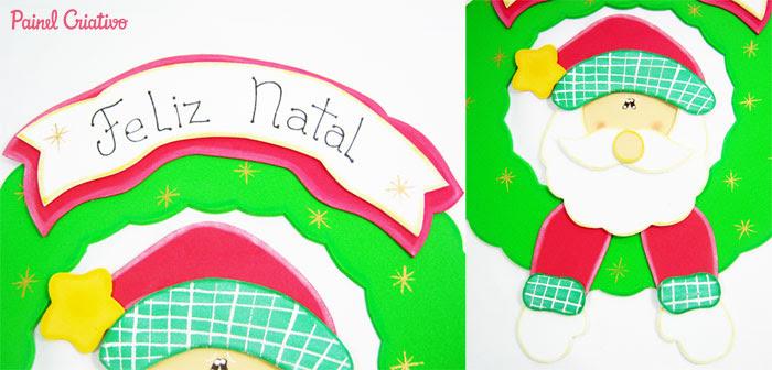 passo a passo guirlanda natal papai noel eva (7)