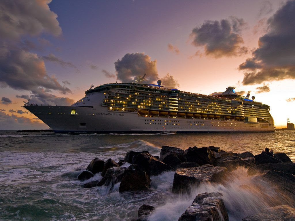 15 Most Expensive Cruise Ships In The World | #11. Independence of the Seas ($828 million)