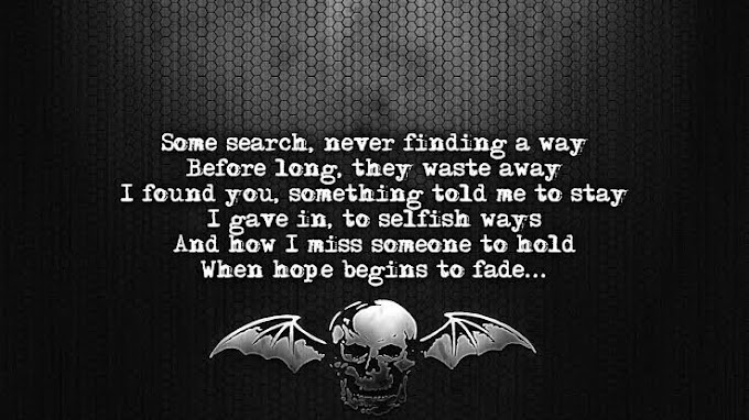 Avenged Sevenfold - Dear God Lyrics and Download Mp3