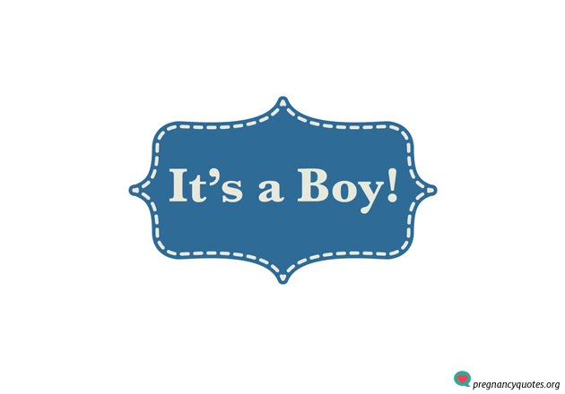 Its A Boy 3 Pregnancy Quotes Pregnancy Quotes