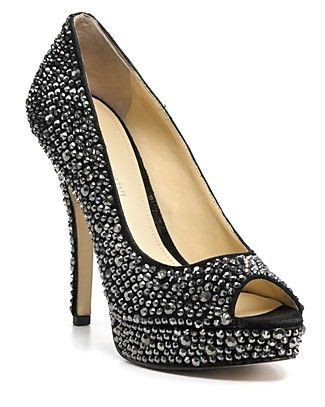 Enzo Angiolini Show You Crystal Pumps