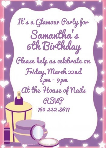 Marvelous Invitation Card For Birthday Party For Girl Canvatemplete Personalised Birthday Cards Paralily Jamesorg