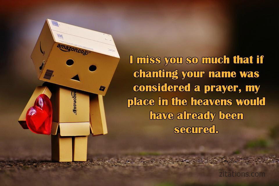 Miss You Quotes For Him Romantic Picture Messages Zitations