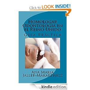 Homologar Odontologia en el Reino Unido (The Study Net Guias) (Spanish Edition)