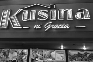 Manila - Kusina ni Gracia sign
