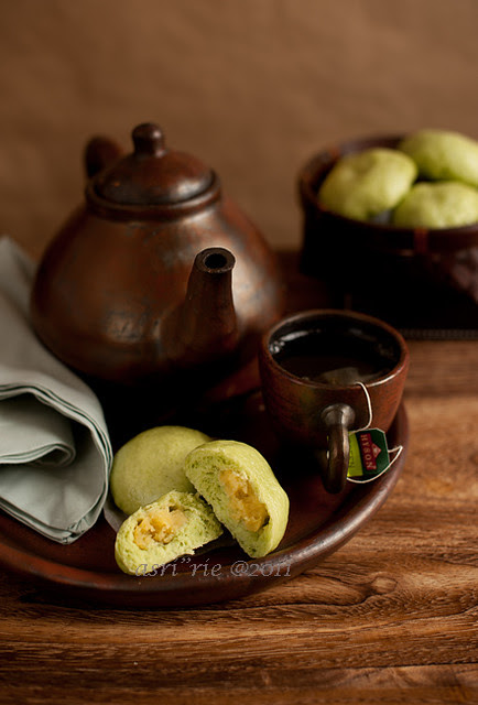 green tea bakpao