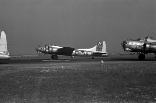 Squadron Planes Taking off on Mission 70 02