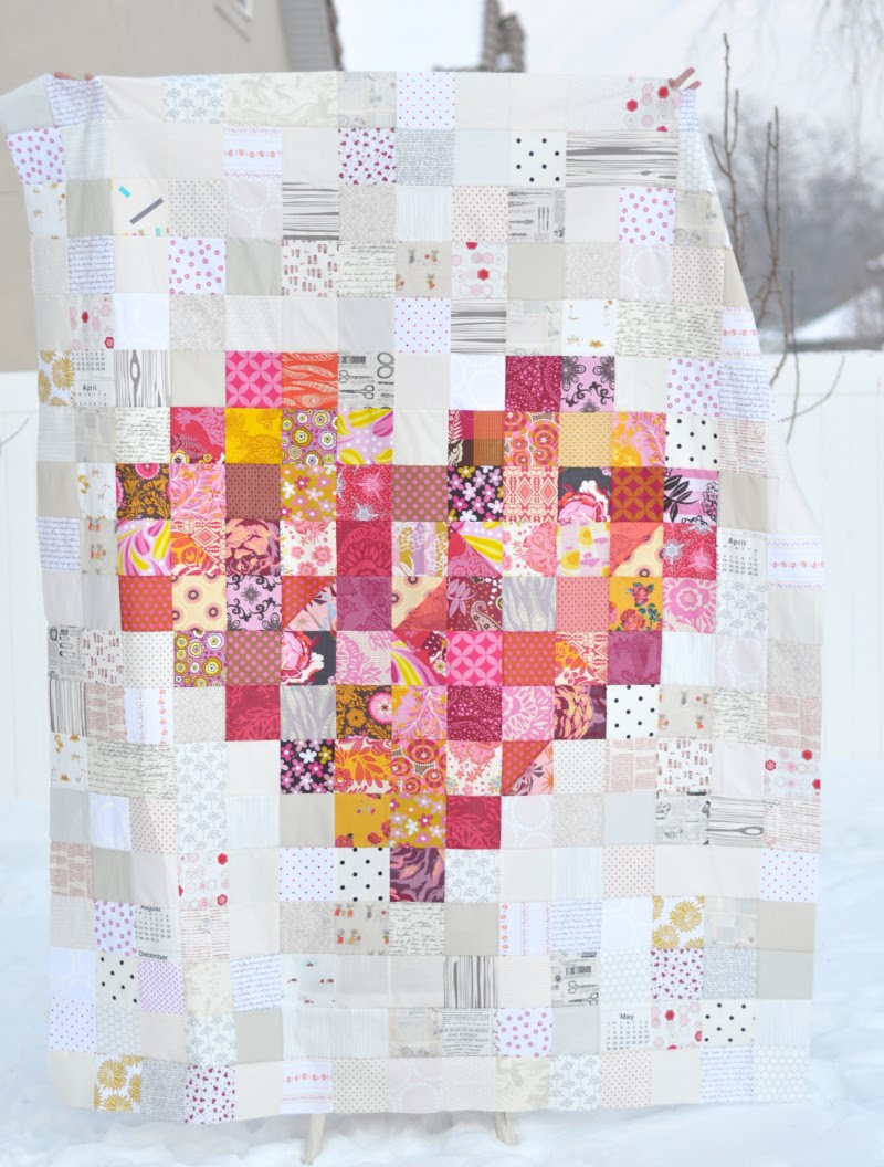 Front of Heart Quilt