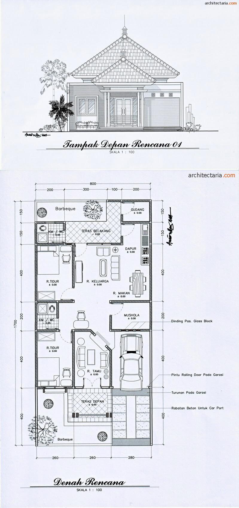 Image Result For Sketsa Rumah Kamar Lantai